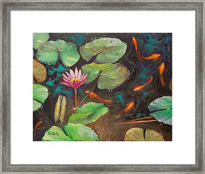 The Shallow End Framed Print by Eve  Wheeler