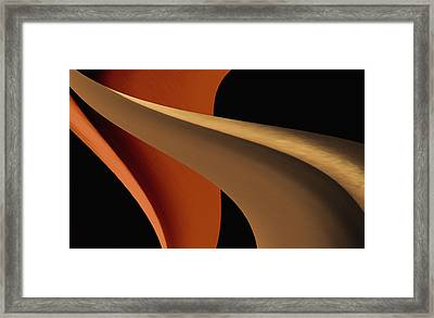 The Shape Of Design Framed Print by Kellice Swaggerty