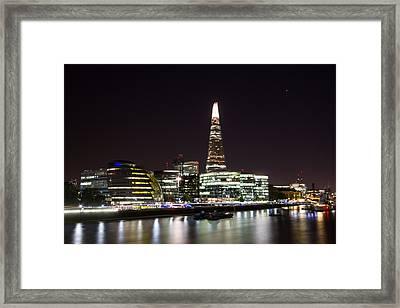 The Shard And City Hall  Framed Print by Wayne Molyneux