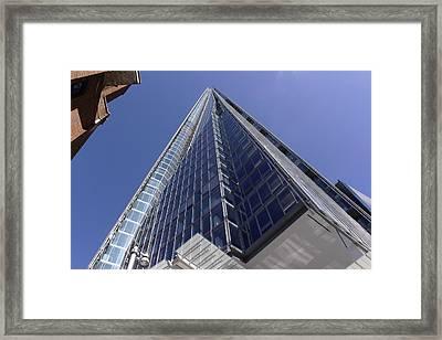 The Shard London Bridge Framed Print by Nicky Jameson
