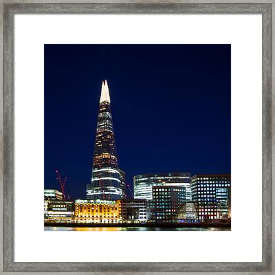 The Shard London Framed Print by Wayne Molyneux