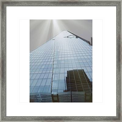 The Shard Framed Print by Maeve O Connell