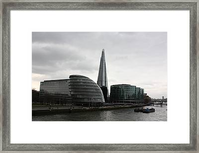 The Shard Framed Print by Pat Purdy