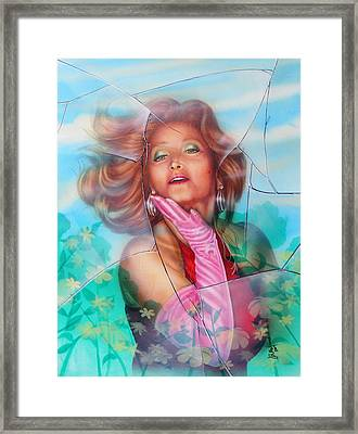 The Shattered Window Framed Print by James McAdams