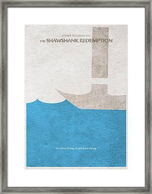 The Shawshank Redemption Framed Print by Ayse Deniz