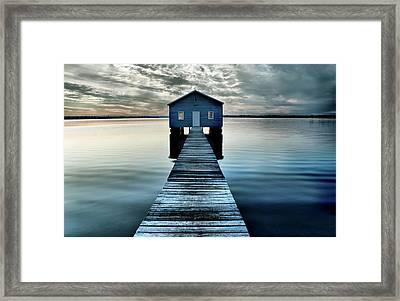 The Shed Upon The Water Framed Print