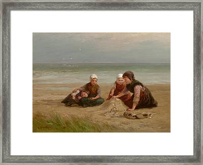The Shell-gatherers Framed Print