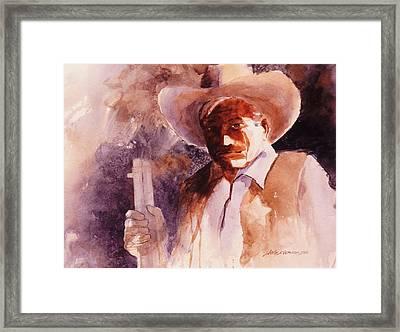 The Sheriff  Framed Print by John  Svenson