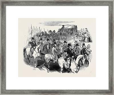 The Sheriff Of Oxfords Javelin Men Framed Print