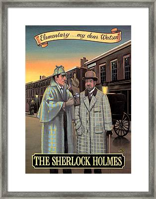 The Sherlock Holmes Framed Print by Peter Green