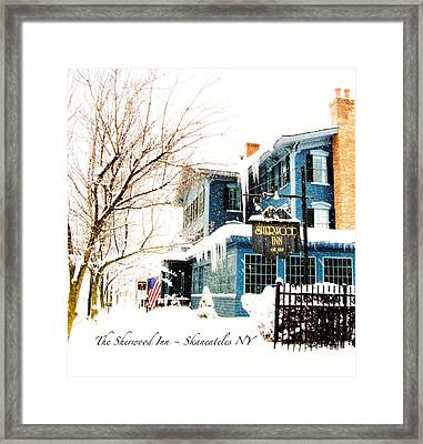 The Sherwood Inn Framed Print by Margie Amberge