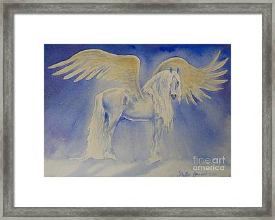 The Shining Framed Print by Louise Green