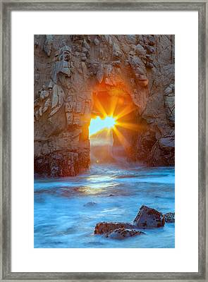 The Shining Star Framed Print