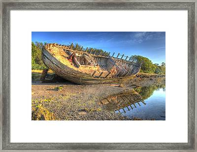 The Shipwreck Framed Print by Mal Bray