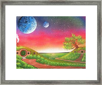 The Shire Framed Print by Drew Goehring
