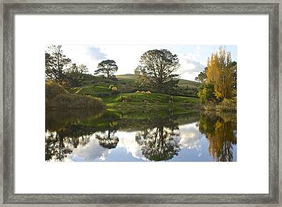 The Shire Middle Earth Framed Print by Venetia Featherstone-Witty
