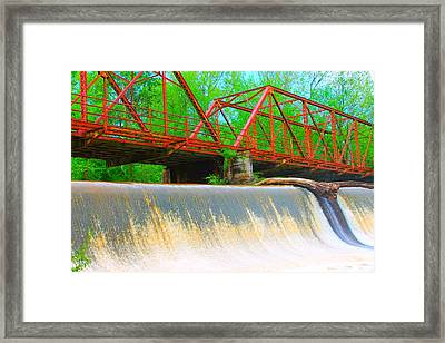 The Shoals Framed Print by Sarah E Kohara