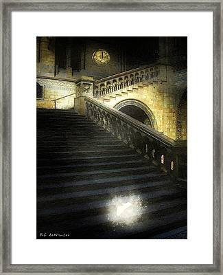 The Shoe Forgotten Framed Print