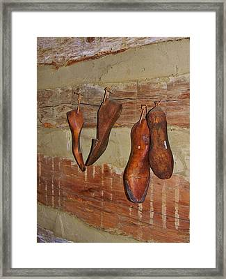 The Shoemaker Framed Print