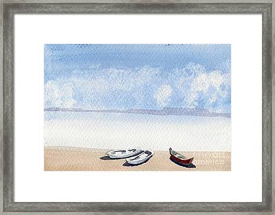 The Shore Framed Print