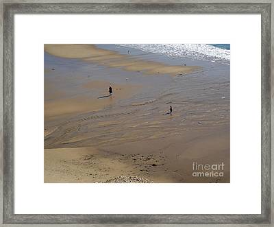The Shore Framed Print by Gregory Dyer