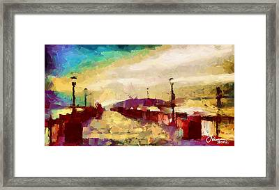 The Shore Tnm Framed Print by Vincent DiNovici