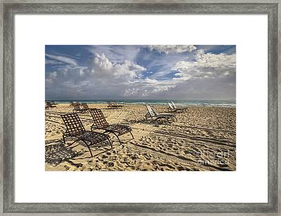 The Shores Of An Infinite Imagination Framed Print by Evelina Kremsdorf