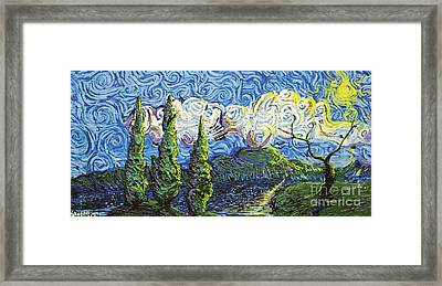 The Shores Of Dreams Framed Print