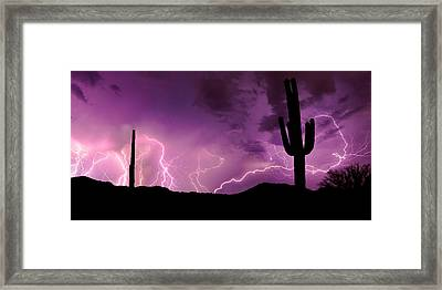 Framed Print featuring the photograph The Show by Brad Brizek