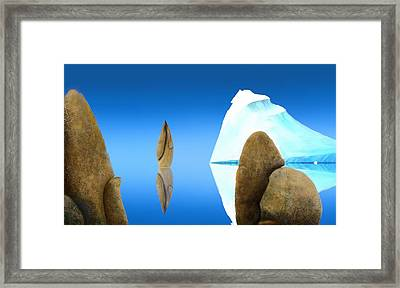 The Show Off Framed Print