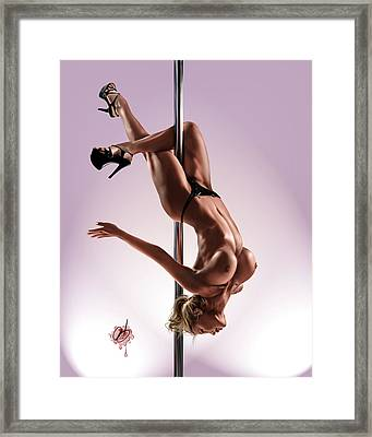 The Show Framed Print by Pete Tapang