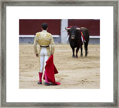 The Showdown Framed Print by Nathan Rupert