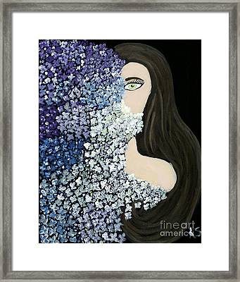 The Shy One  Framed Print