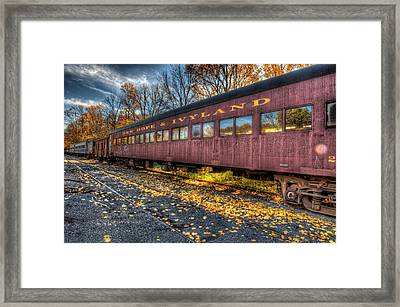 The Siding Framed Print by William Jobes