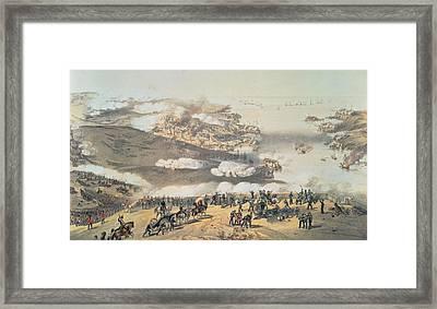 The Siege Of Sevastopol Framed Print