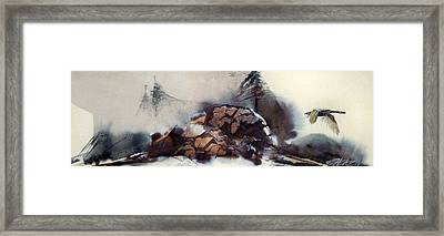 The Sierras Framed Print