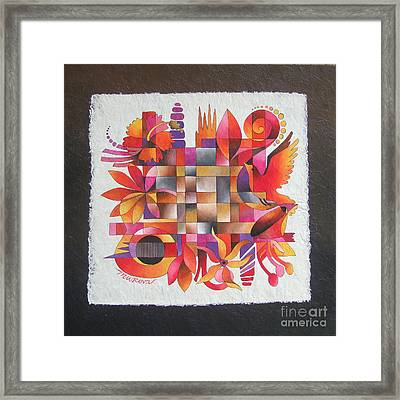 The Sigidrigi Mat Framed Print