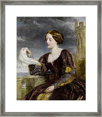 The Signal Framed Print by William Powell Frith