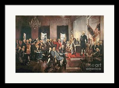 Legislation Framed Prints