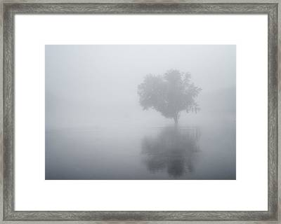 The Silence Is Deafening Framed Print
