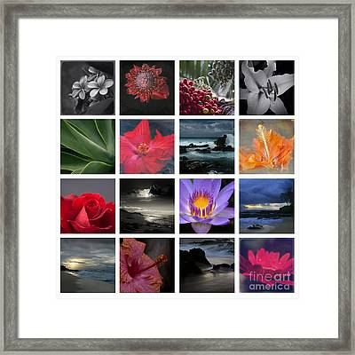 The Silence Of Time Framed Print by Sharon Mau