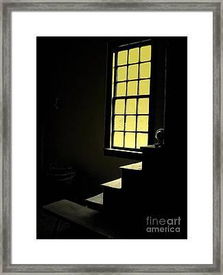 The Silent Room Framed Print