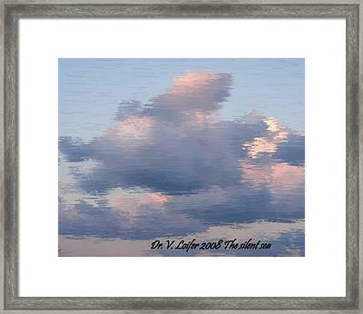 The Silent Sea Framed Print by Dr Loifer Vladimir