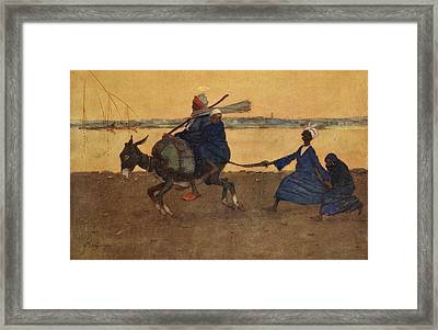 The Silly Ass, From The Light Side Framed Print