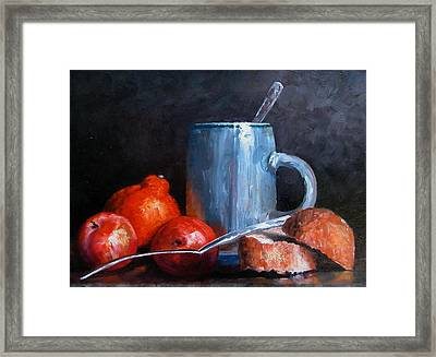 The Silver Cup Framed Print
