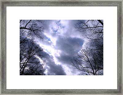 Framed Print featuring the photograph The Silver Lining by Candice Trimble