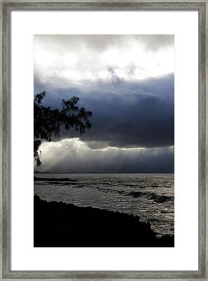 The Silver Lining Framed Print