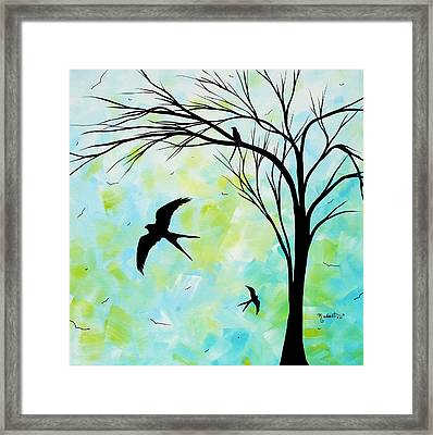 The Simple Life By Madart Framed Print