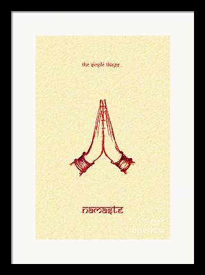 The Devotee Framed Prints