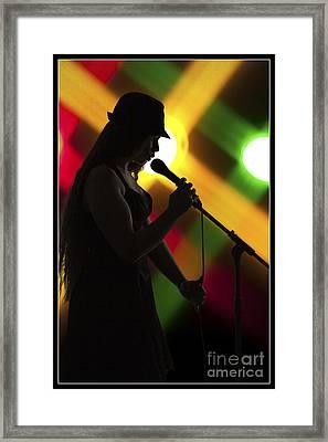 The Singer 1003.02 Framed Print by M K  Miller